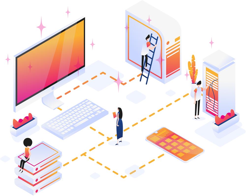 Moderne & professionelle Softwareentwicklung - copyright by https://www.freepik.com/silvianatalia